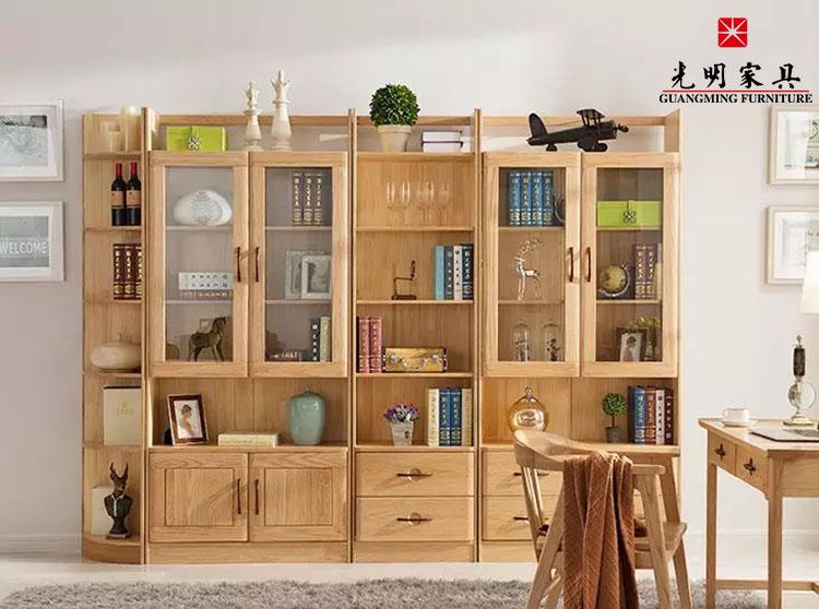 实木书柜保养法