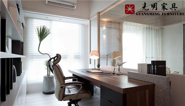 光明家具与您欣赏雅致小户型三房装修设计案例