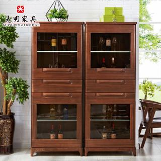 【光明亚博vip】现代中式酒柜 餐边柜 858-3301