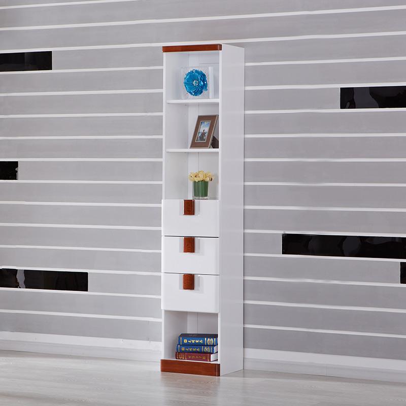 【光明家具】水曲柳全实木自由组合书柜 简约现代整体书柜简易书架 WX7-6311-43